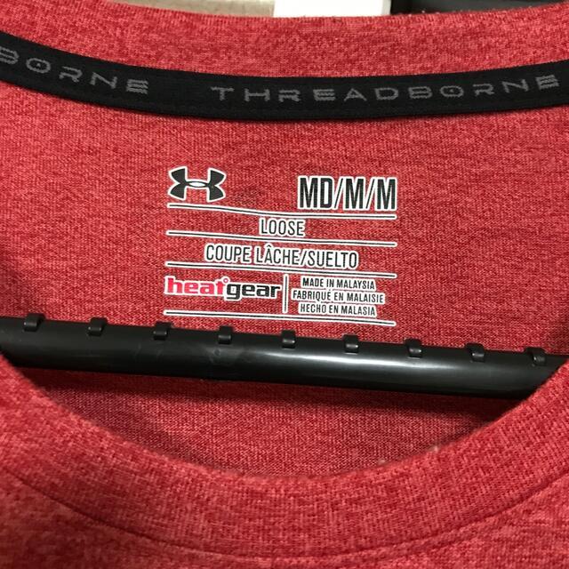UNDER ARMOUR(アンダーアーマー)のアンダーアーマーunder armour半袖Tシャツ着丈70身幅50ゆったり メンズのトップス(Tシャツ/カットソー(半袖/袖なし))の商品写真