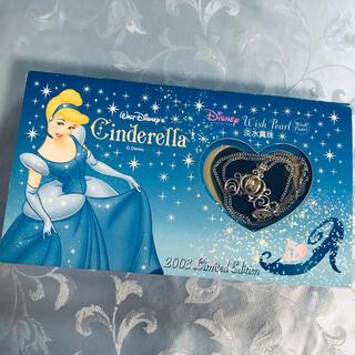 Disney - レア♡シンデレラ♡本物真珠パール入り馬車ネックレス