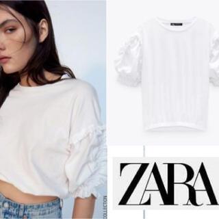 ZARA - タイムセール!ZARA フリルTシャツ 未使用