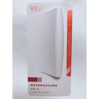 フローフシ(FLOWFUSHI)のUZU モテマスカラ フローフシ UZU ブラック 9 1本 マスカラ 新品(マスカラ)