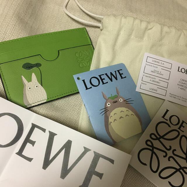 LOEWE(ロエベ)のLOEWE ロエベ   トトロ カードケース ジブリ 限定 新品 レディースのファッション小物(名刺入れ/定期入れ)の商品写真