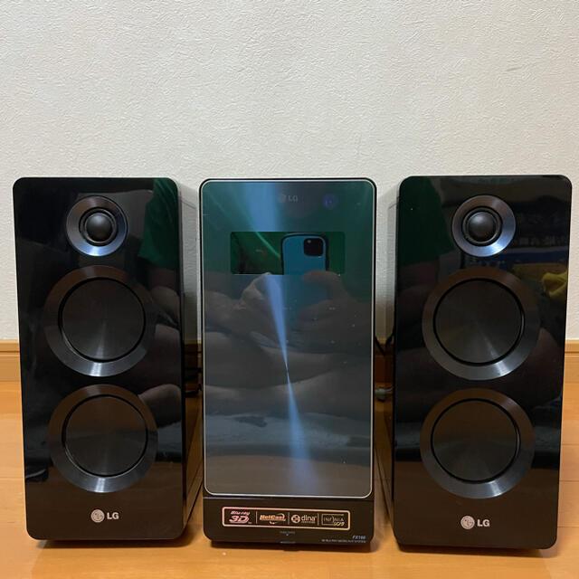 LG Electronics(エルジーエレクトロニクス)のLGFX1663Dブルーレイ iPod多機能マイクロHi-Fiシステム スマホ/家電/カメラのオーディオ機器(その他)の商品写真