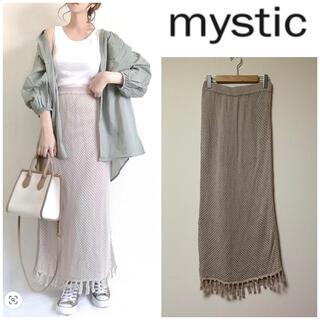 mystic - mystic♡透かし編みニットスカート