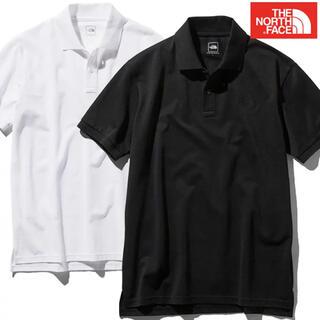 ザノースフェイス(THE NORTH FACE)のノースフェイス ポロシャツ Mサイズ ブラック(ポロシャツ)