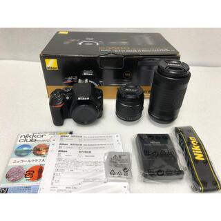 Nikon - Nikon 一眼レフカメラ D3500 ダブルズームキット おまけあり