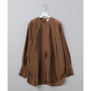 BEAUTY&YOUTH UNITED ARROWS - <6(ROKU)> CUPRA DRESS LONG SLEEVE SHIRT