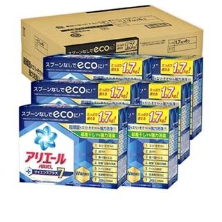 ピーアンドジー(P&G)の【☺️様専用】アリエール粉末洗剤 1.7kg×6コ(洗剤/柔軟剤)