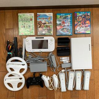 ウィーユー(Wii U)のWiiU 本体 ソフト セット(家庭用ゲーム機本体)