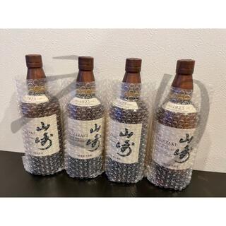 サントリー - サントリー 山崎 シングルモルト ウイスキー 43度 700ml 4本セット