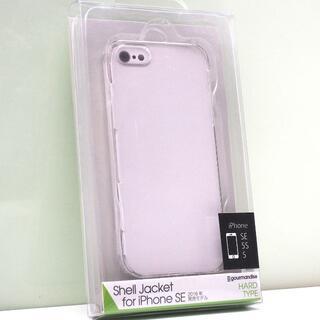 iPhone SE/5s/5用 ハードケース シャルジャケット クリア (iPhoneケース)