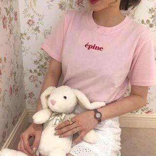 epine  エピヌ 刺繍 tシャツ