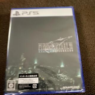 プレイステーション(PlayStation)の「ファイナルファンタジー7 リメイク インターグレード」 PS5版 (家庭用ゲームソフト)