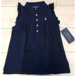 ラルフローレン(Ralph Lauren)のタグ付き未使用⭐︎ラルフローレン ノースリーブトップス5T(115)(Tシャツ/カットソー)