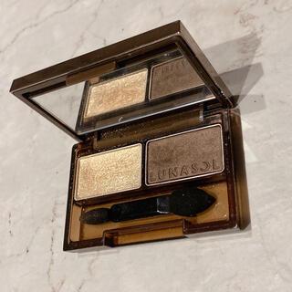 ルナソル(LUNASOL)のルナソル ディープコントラスティングアイズ EX02 Gold Brown(アイシャドウ)