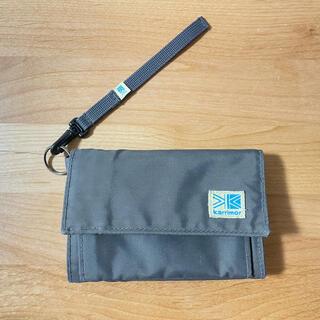 カリマー(karrimor)のカリマー 財布 VT wallet チャコール(折り財布)