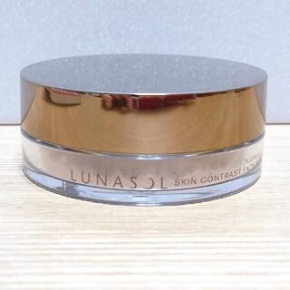 ルナソル(LUNASOL)の37 ルナソル  スキンコントラスト フェースパウダーN EX01(フェイスパウダー)