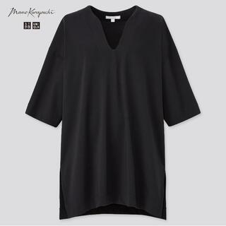 UNIQLO - mame ユニクロ コラボ mame kurogouchi Mサイズ BLACK