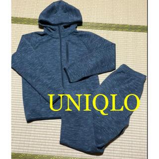 ユニクロ(UNIQLO)のUNIQLO ユニクロ  スポーツウェア グレー(ウェア)