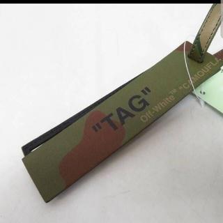 オフホワイト(OFF-WHITE)の【未使用】OFF-WHITE/オフホワイト TRAVEL TAG ラゲッジタグ(キーホルダー)