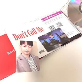 SHINee - SHINeeミノ君『DON'T CALL ME』CD &トレカ2枚