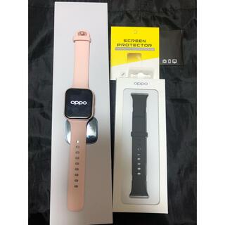 OPPO - 美品 Oppo Watch 41mm ピンクゴールド おまけ付き