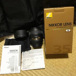 Nikon - NIKON AF-S NIKKOR 35mm F1.4G 中古美品 お買い得!