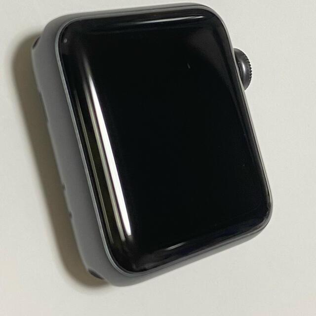 Apple Watch(アップルウォッチ)のアップルウォッチシリーズ3 38mm Apple Watch メンズの時計(腕時計(デジタル))の商品写真