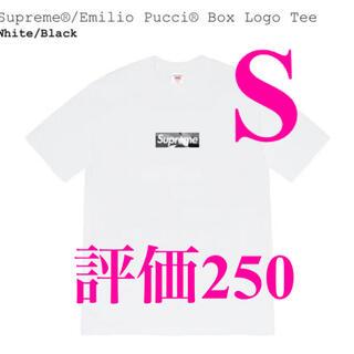 Supreme - Supreme Emilio Pucci Box Logo Tee S