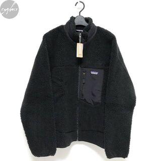 パタゴニア(patagonia)のパタゴニア メンズ レトロX ジャケット 黒 L 新品 フリース カーディガン(ブルゾン)