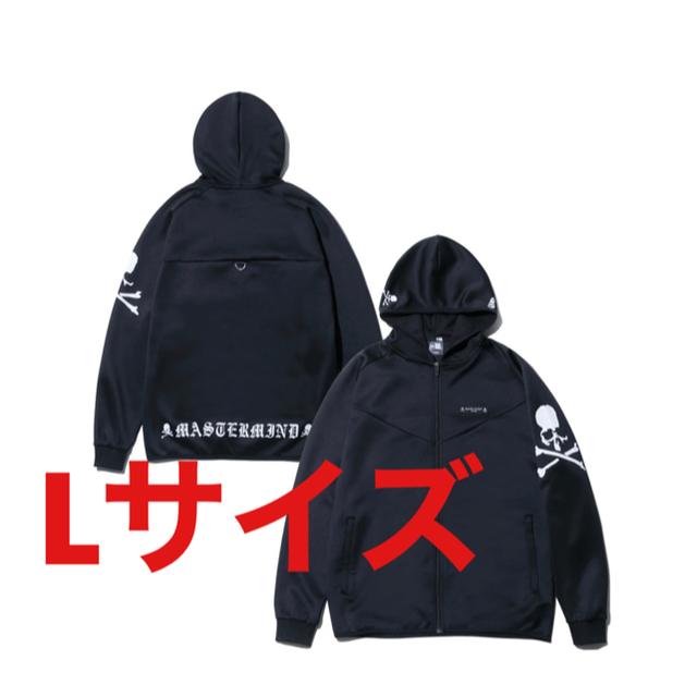 mastermind JAPAN(マスターマインドジャパン)のmastermind new era コラボ ウォームアップジャケット XLとL メンズのジャケット/アウター(ナイロンジャケット)の商品写真