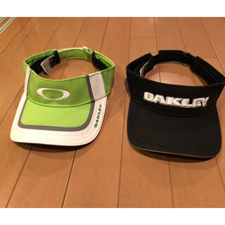 Oakley - ゴルフバイザー2点セット