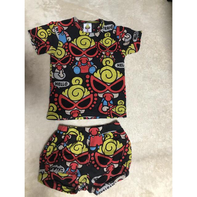 HYSTERIC MINI(ヒステリックミニ)のヒステリックミニ  セットアップ キッズ/ベビー/マタニティのベビー服(~85cm)(Tシャツ)の商品写真
