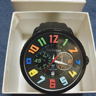 テンデンス(Tendence)のテンデンス Tendence TY460610 レインボー  日本限定モデル(腕時計(アナログ))