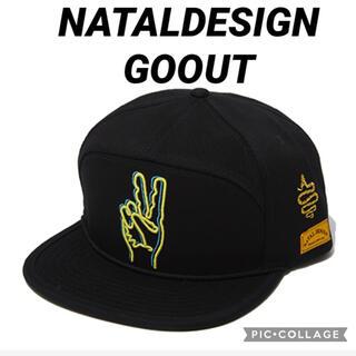 ネイタルデザイン(NATAL DESIGN)の【即完売品】NATALDESIGN × ALDIES × GO OUT ブラック(キャップ)