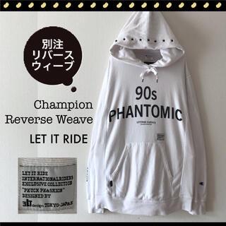Champion - チャンピオン リバースウィーブ★LET IT RIDE★スウェットパーカー
