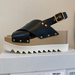 ステラマッカートニー(Stella McCartney)のSTELLA McCARTNEY plastic sandal percy 新品(サンダル)