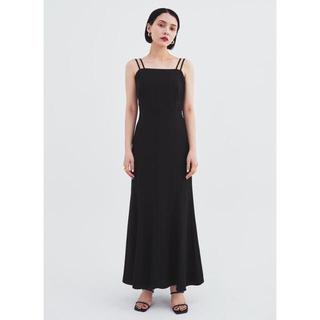 Ameri VINTAGE - GLASS DRESS (black)