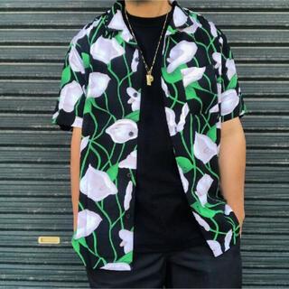 Supreme - 18SS Supreme リリー レーヨンシャツ Mサイズ