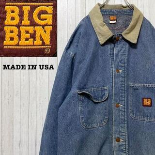 BIGBEN USA製 80's デニムカバーオール ビッグサイズ ロング 52