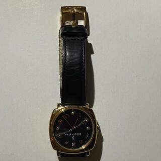 MARC JACOBS - マークジェイコブス ブラックサンレイダイアル 時計 腕時計