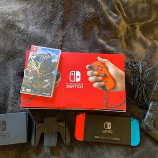 Nintendo Switch - NintendoSwitch モンハン コントローラー付き