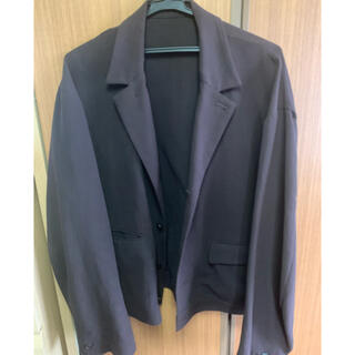 ジエダ(Jieda)のURU 18aw cotton short jacket(テーラードジャケット)