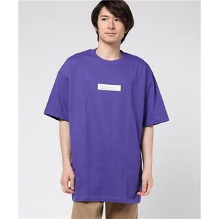 ジエダ(Jieda)の【JIEDA×WWG】17S/S 別注BIG TEE パープル 2(Tシャツ/カットソー(半袖/袖なし))