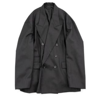 SUNSEA - stein21ss オーバーサイズダブルブレステッドピークドジャケット