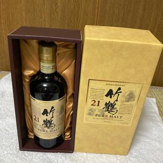 ニッカ 竹鶴 21年 700ml  終売 高級 ウイスキー