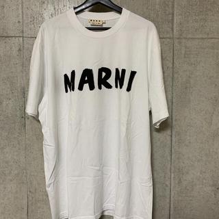 マルニ(Marni)の【MARNI】2020SS ハンドペイントロゴTシャツ(Tシャツ/カットソー(半袖/袖なし))