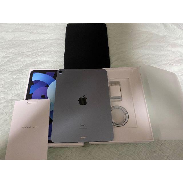 iPad(アイパッド)のiPad Air4 64GB Wifiモデル スカイブルー スマホ/家電/カメラのPC/タブレット(タブレット)の商品写真