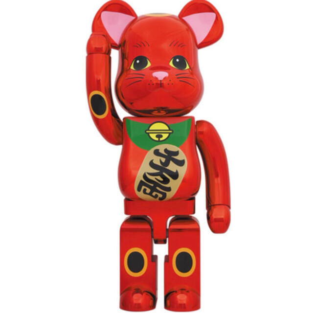 MEDICOM TOY(メディコムトイ)のベアブリック 招き猫 梅金メッキ 1000% エンタメ/ホビーのフィギュア(その他)の商品写真
