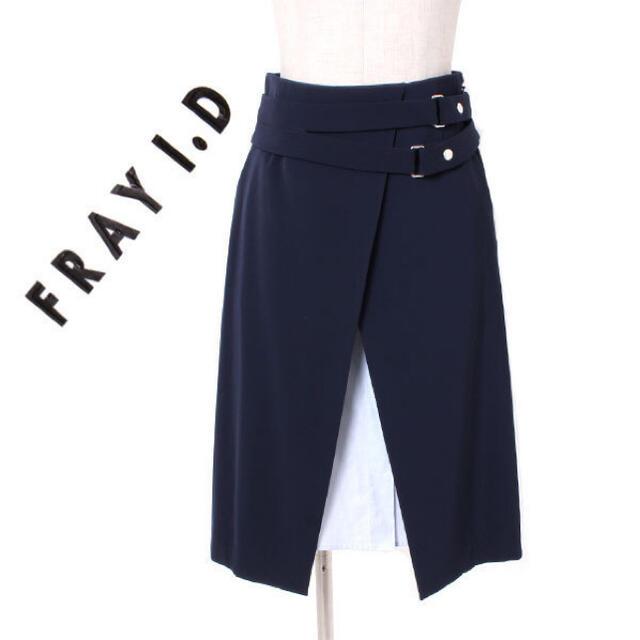 FRAY I.D(フレイアイディー)のFRAYI.D スカート 美品 レディースのスカート(ひざ丈スカート)の商品写真