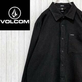 ボルコム(volcom)のVOLCOM ボルコム 長袖シャツ スケーター 美品 ポケット ロゴ モダン M(シャツ)
